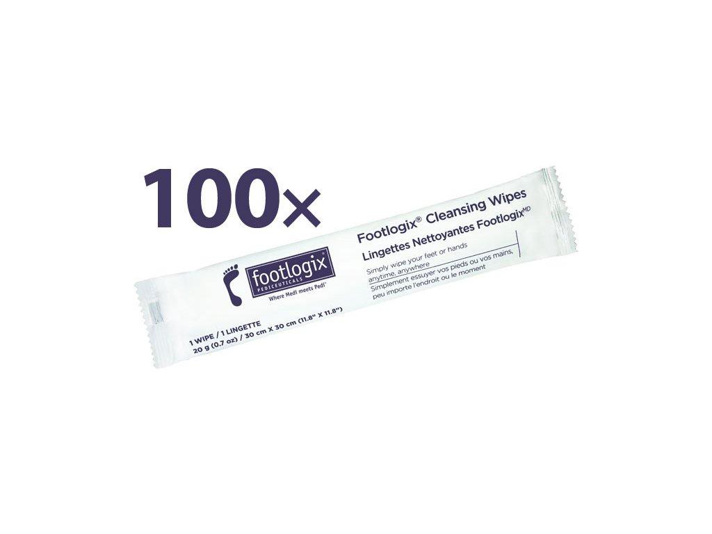 Footlogix Footlogix Profi Pack Cleansing Wipes - khăn lau vệ sinh với chất khử trùng 100c