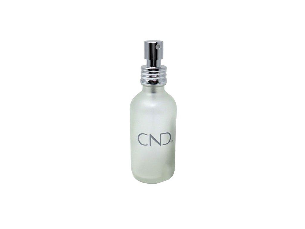 CND FROSTED GLASS SPRAY BOTTLE - Lahvička se sprejem s logem CND™ z mléčného skla 118 ml