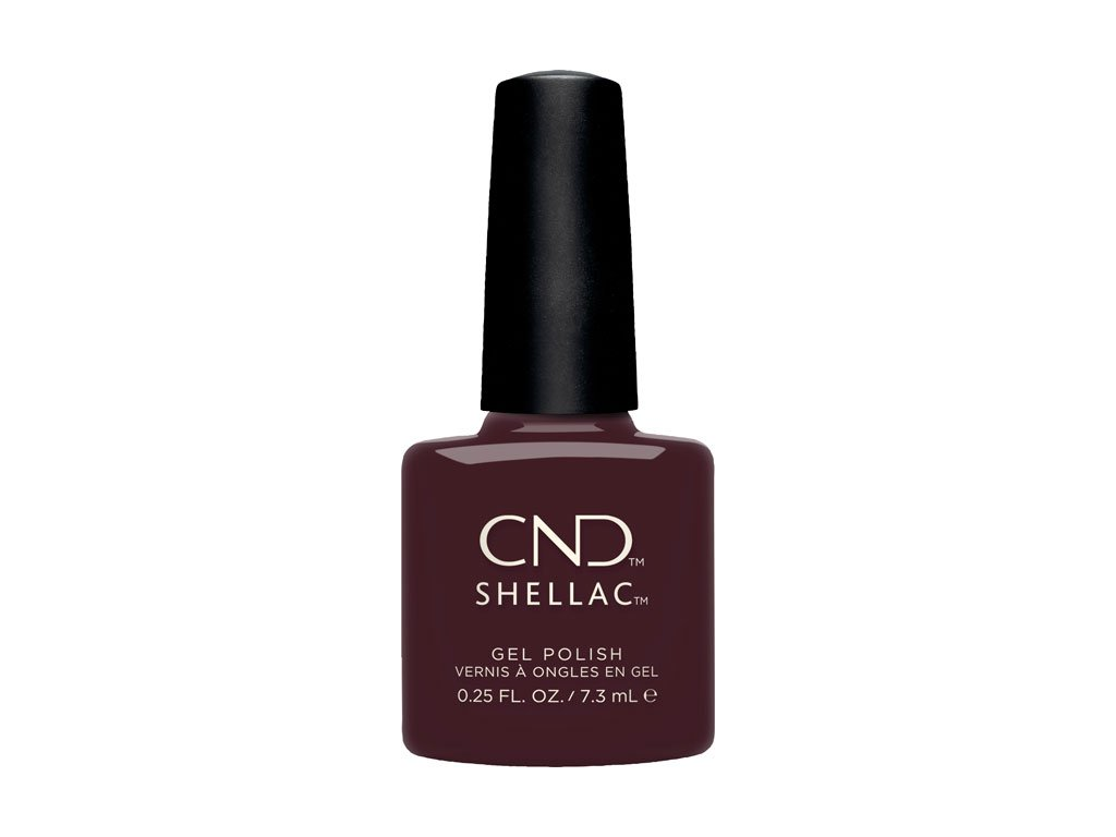 CND SHELLAC™ - UV COLOR -  BLACK CHERRY (304) 0.25oz (7,3ml)