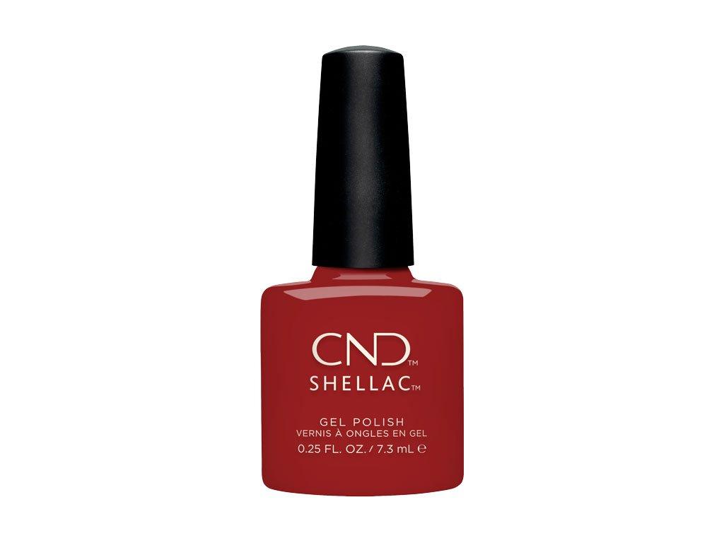 CND SHELLAC™ - UV COLOR - COMPANY RED  (338) 0.25oz (7,3ml)