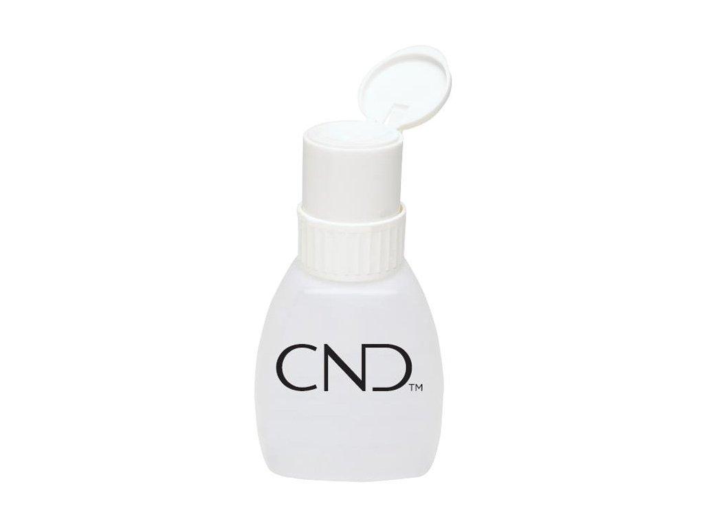 CND NEW CND MENDA PUMP - chai chất lỏng có bơm định lượng menda - - nhãn hiệu CND, có thể khóa nắp