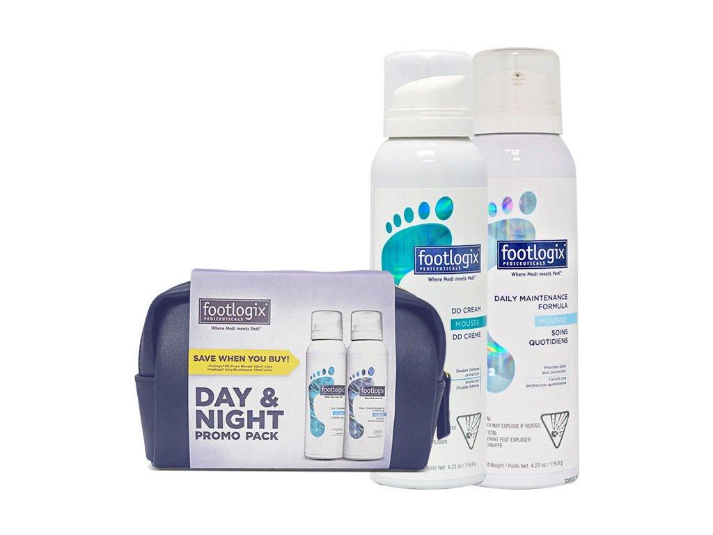 Footlogix Footlogix® bộ CHĂM SÓC NGÀY và ĐÊM - trong túi mang theo