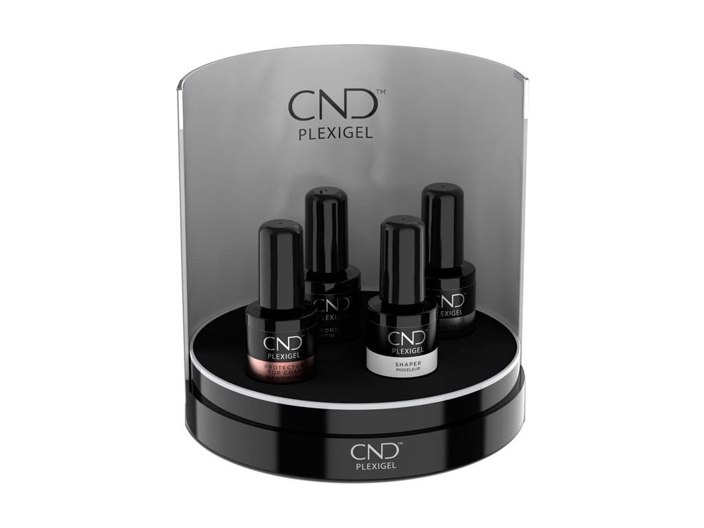 CND CND™ PLEXIGEL - BỘ tạo móng có ĐẦY ĐỦ 4x CND™ PLEXIGEL (15ml) + CND™ PLEXIBOX