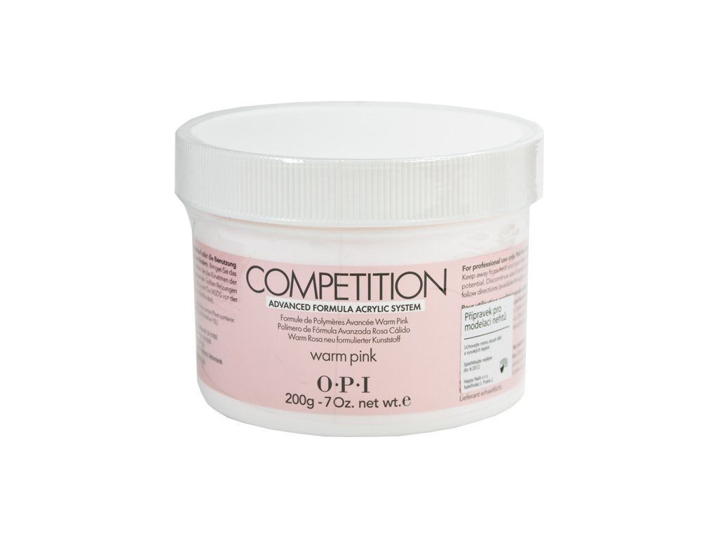 OPI Competition Formula 3000 Powder - Bột đắp móng - màu hông ấm 200g