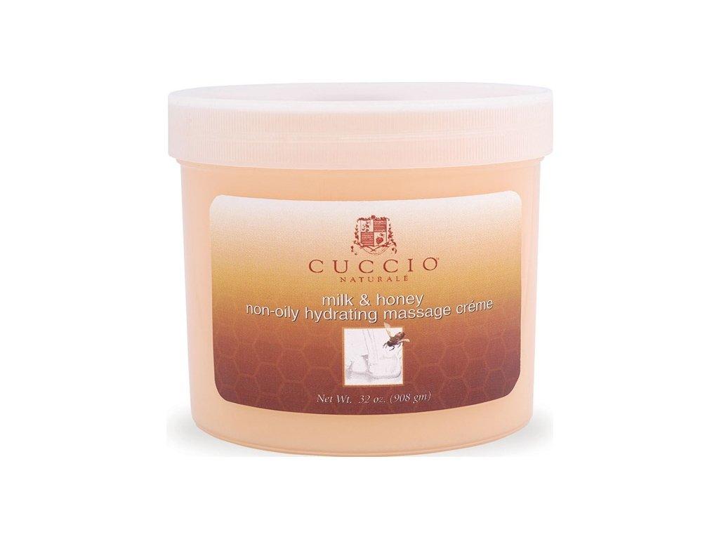CUCCIO Milk and Honey Massage Créme 26oz. - Kem mát xa tinh chất sữa và mật ong 750g