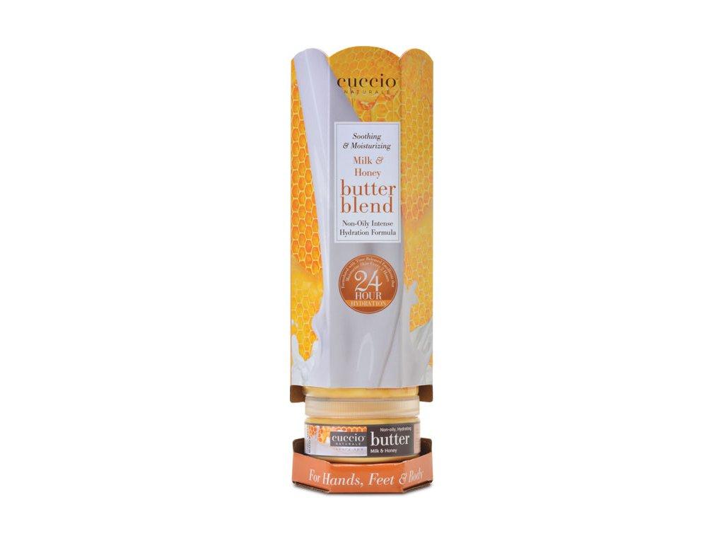 CUCCIO Milk and Honey Butter Blend - sáp dưỡng tinh chất tinh chất sữa và mật ong 6x226g