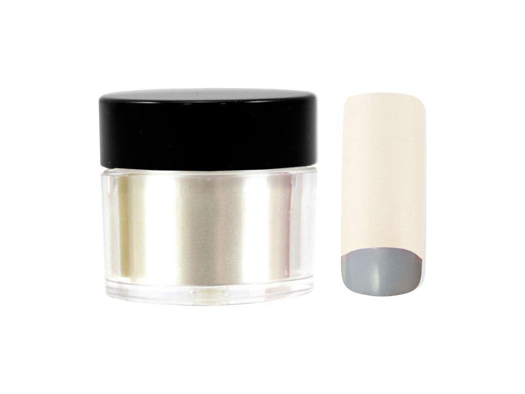 Platinum COLOR EFFECT PIGMENT - bột màu pha với gel - PURE LIGHT SILVER - 7ml (32)