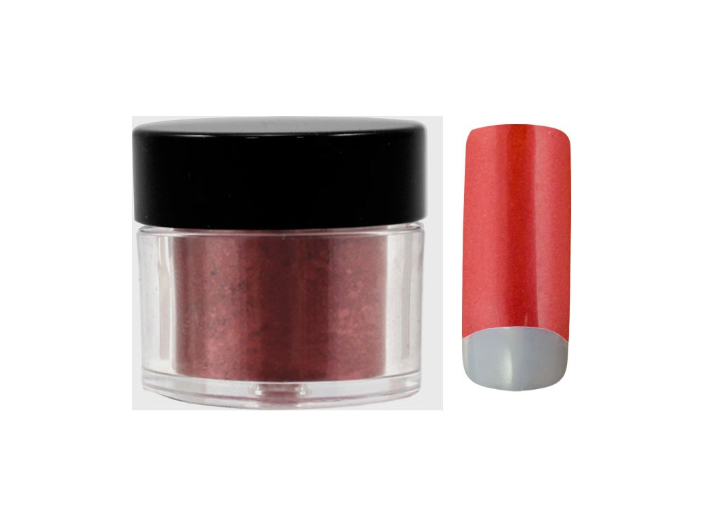 Platinum COLOR EFFECT PIGMENT - bột màu pha với gel - PURE FROZEN RED - 7ml (33)