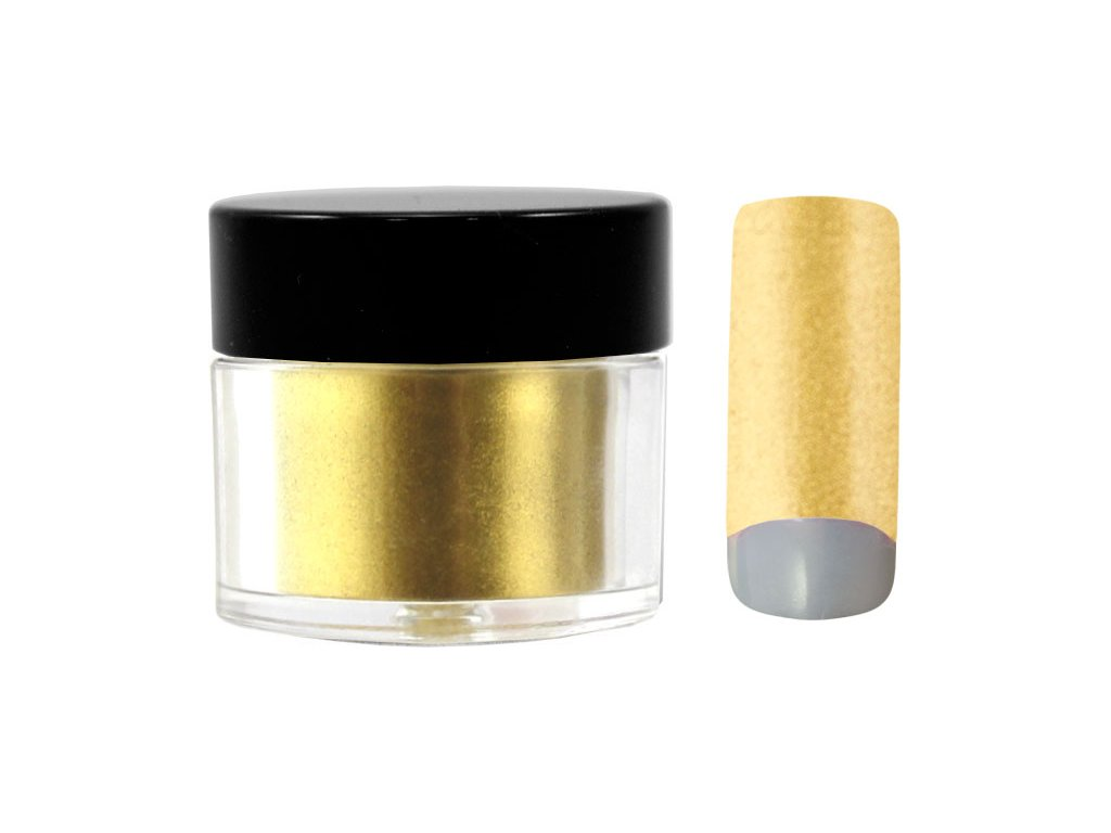 Platinum COLOR EFFECT PIGMENT - bột màu pha với gel - PURE GOLD - 7ml (34)