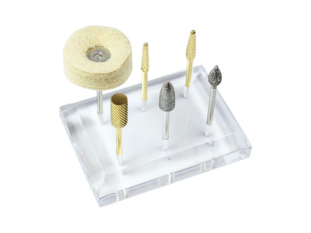 EBD Acrylic Stand - kệ để đầu mài  (không bao gồm đụng cụ)