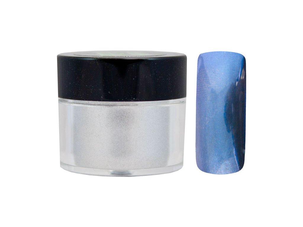 Platinum MIRROR EFFECT PIGMENT - bột làm bóng gel với hiệu ứng gương - BLUE - 7ml (04)