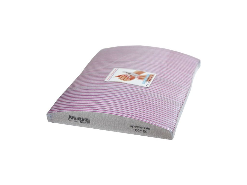 Amazing Shine Dũa chuyên nghiêp SPEEDY HALFMOON 100/100 có vằn ( điểm giữa màu hồng) 50c