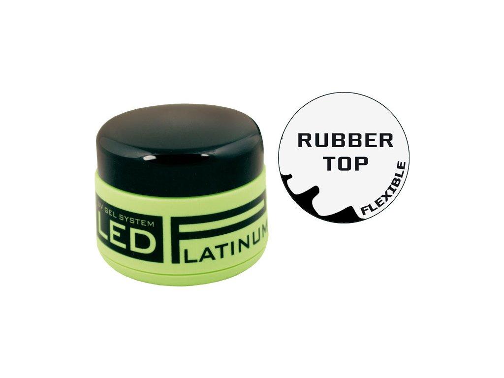 Platinum PLATINUM LED - lớp phủ cực sáng, cực đàn hồi - RUBBER TOP, 9g  (30 giây LED/120 giây UV)