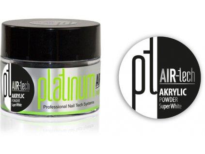 Platinum PLATINUM AIR-tech ACRYLIC Super White, 50ml/35g - bột acrylic trắng sáng