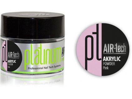Platinum PLATINUM AIR-tech ACRYLIC Pink, 50ml/35g - bột acrylic màu hồng