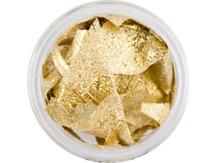 822 - Natural dry leaves - gold (02/740.14L)