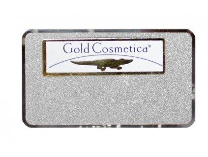 Gold Cosmetica GOLD POWDER - Bột từ 12 kar. vàng trắng dành cho Nail Art - WHITE GOLD - gói 25mg