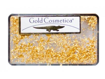Gold Cosmetica GOLD FLAKES - miếng từ 23 kar. vàng dành cho Nail Art - GOLD - gói 25mg