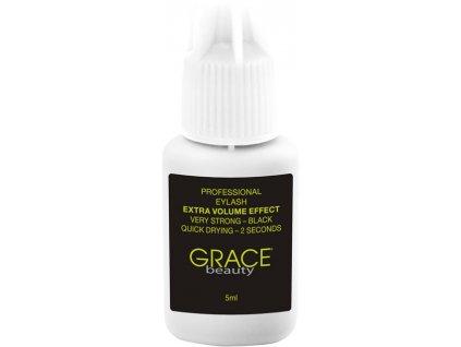 GRACE Beauty keo dínhnối mi volume - extreme  Volume Effect black - 5ml