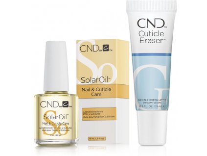 CND CND™ HOLIDAY HYDRATION DUO KIT - Solar Oil a Cuticle Eraser