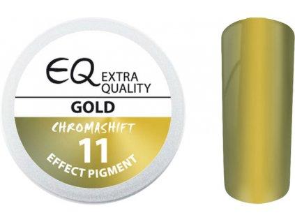 EBD 11 - Extra Quality Effect Pigment - CHROMASHIFT - Bột chrom - GOLD, 2ml