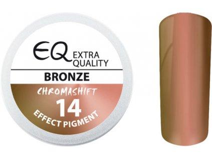 EBD 14 - Extra Quality Effect Pigment - CHROMASHIFT - Bột chrom - BRONZE, 2ml