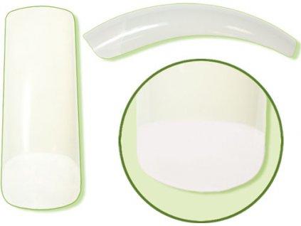 Platinum Nail tips PERFECT OVERLAP (CT-13NA) - móng tip cong, phần dán lớn - NATURAL N. 10  50c