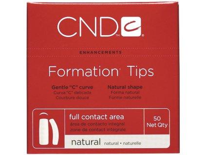 CND FORMATION NATURAL kt. 1, 50c, univerzal tip, nên chữ C độ còn tư nhiên, phần dán lớn