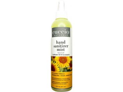 CUCCIO Hydrating Hand Sanitizer Spray-On Sunflower Oil and Eucalypt 8fl.oz – Dezinfekční sprej 237ml