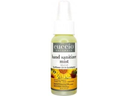 CUCCIO Hydrating Hand Sanitizer Spray-On Sunflower Oil and Eucalypt 2fl.oz – Dezinfekční sprej 56ml