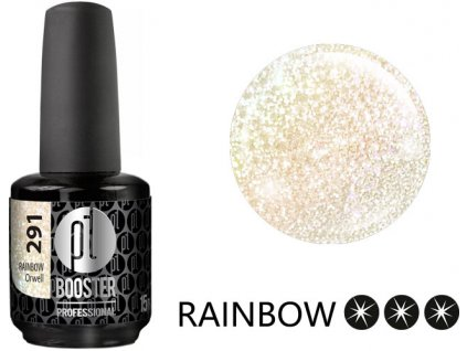 Platinum LED-tech BOOSTER COLOR Rainbow - Orwell (291), 15ml - Sơn-Gel KHÔNG MÀI