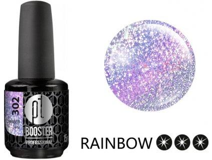 Platinum LED-tech BOOSTER COLOR Rainbow - Sylvia (302), 15ml - Sơn-Gel KHÔNG MÀI
