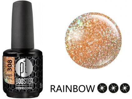 Platinum LED-tech BOOSTER COLOR Rainbow - Thomas (308), 15ml - Sơn-Gel KHÔNG MÀI