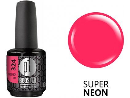 Platinum LED-tech BOOSTER COLOR Super Neon - June (324), 15ml - Sơn-gel KHÔNG MÀI