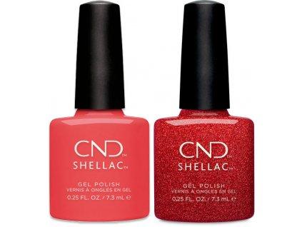 CND CND SHELLAC™  Tropix a Ruby Ritz 2x0.25oz (7,3ml)
