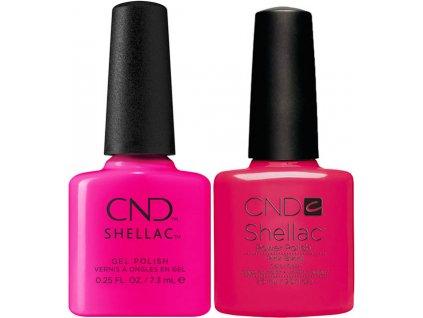 CND CND™ SHELLAC™ - UV COLOR - MUSEUM MEET CUTE (379) 0.25oz (7,3ml) + PINK BIKINI 0.25oz (7,3ml) MIỄN PHÍ
