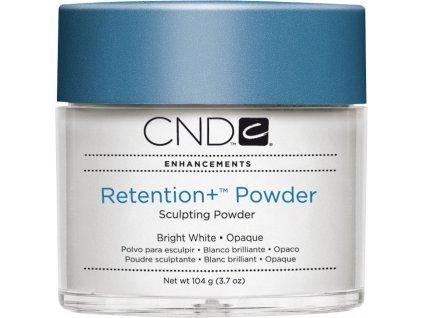 CND RETENTION+ Bột Đắp móng - Bright White Opaque 3.7oz (104g), màu trắng sáng