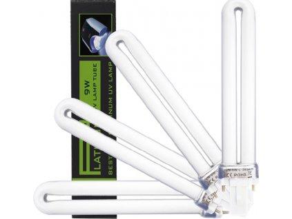 Platinum PLATINUM bóng 9W - BLACK PRINCES - cho đèn UV, 2pin (dài đui đèn 2,1cm), 4c