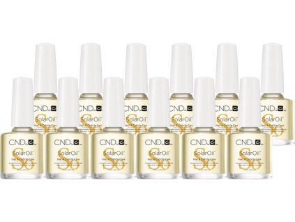 CND SOLAR OIL - dầu tự nhiên có vitamin E- 12 x 0.25oz (7,3ml)-  gói 12c, - để đặt hàng thuận tiện