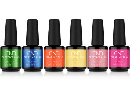 CND CND™ Creative Play™ BỘ SƠN GEL - BRIGHT OUT - 6x0.5oz (6x15ml)