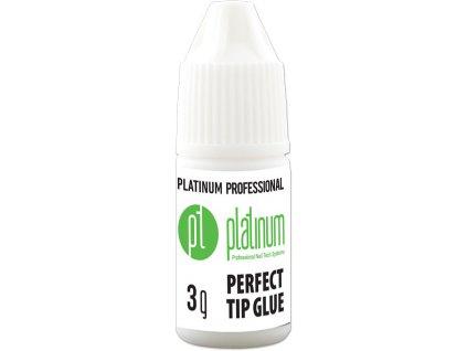 Platinum PLATINUM PROFESSIONAL PERFECT TIP GLUE - hồ dán móng tip không màu, 3g