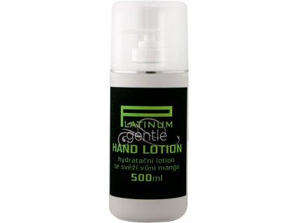Platinum GENTLE HAND LOTION - sữa làm ẩm hương xoài nhẹ, 500ml có đầu bơm