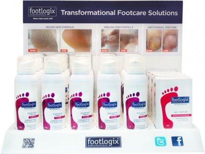 Footlogix ANTI-FUNGAL Counter Display - 18 sản phẩm