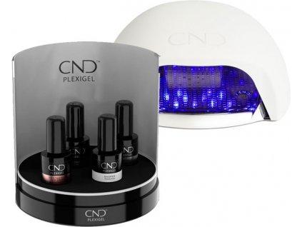 CND CND™ PLEXIGEL - BỘ tạo móng có ĐẦY ĐỦ 4x CND™ PLEXIGEL (15ml) + CND™ PLEXIBOX + CND™ ĐÈN LED