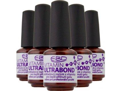 EBD Vitamin Ultra Bond,Dung dịch liên kết để bám dính gel tốt hơn,không chứa axit, với vitamin, 9ml 6c
