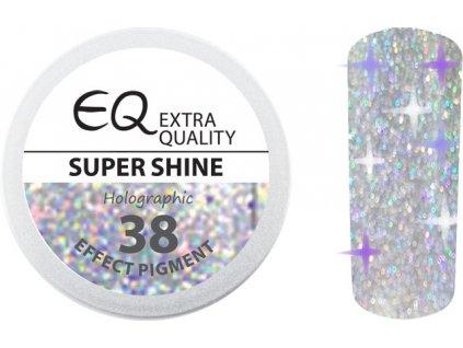 EBD 38 - Extra Quality Effect Pigment - HOLOGRAPHIC - nhũ cho vào gel - SUPER SHINE 2ml