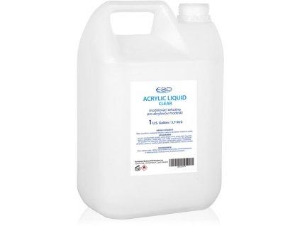 EBD ACRYLIC LIQUID - CLEAR - dung dịch đắp bột 1 Gallon (3.7 l)