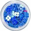 Glitter trang trí-HOA-màu xanh lam (12)