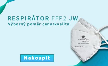 Respirátor FFP 2 JW