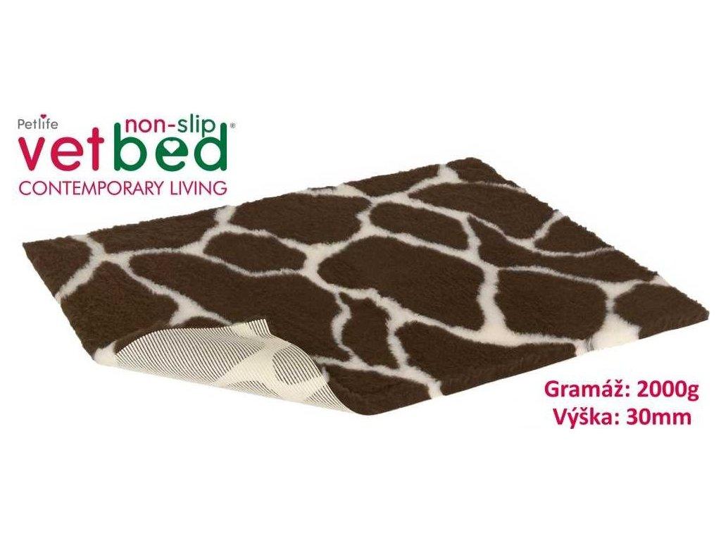 Vetbed protiskluz Drybed Žirafa
